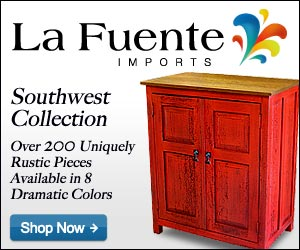 Southwest Collection - Painted Cabinet