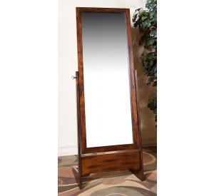Rustic Santa Fe Cheval Mirror