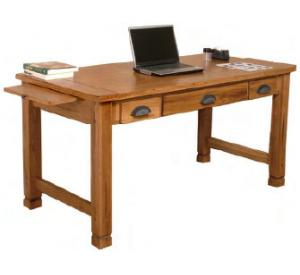 Rustic Oak Writing Desk