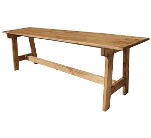 Rustic Furniture Pilgrim Mexican Rustic Pine Bench