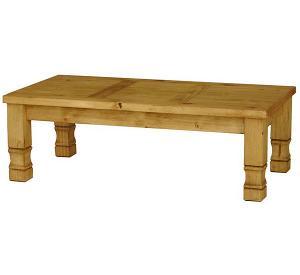 Rustic Furniture Julio Mexican Rustic Pine Coffee Table