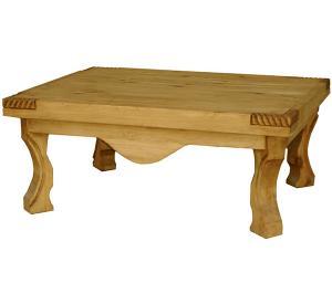 Rustic Furniture Yugo Mexican Rustic Pine Coffee Table