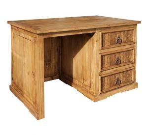 Taos Mexican Rustic Pine Desk with Wormwood