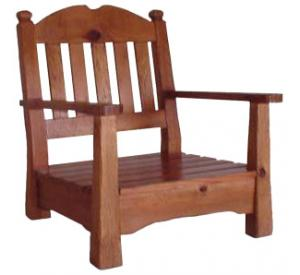 Southwestern Rustic Hacienda Chair