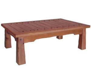 Rustic furniture southwestern rustic hacienda coffee table for Southwestern coffee table