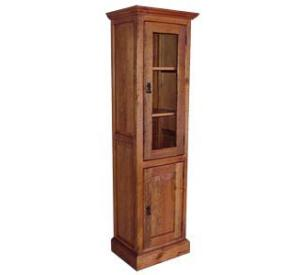 Southwestern Rustic Hacienda Cabinet with Door