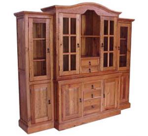Southwestern Rustic Senorial Armoire with Doors