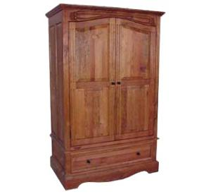 Southwestern Rustic Texas Armoire