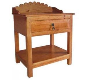 rustic furniture southwestern rustic santa fe nightstand