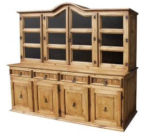 Large Apolonia Mexican Rustic Pine Cupboard