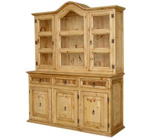 Apolonia Mexican Rustic Pine Cupboard