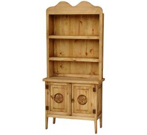 Chapo Star Mexican Rustic Pine Cupboard