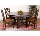 Rustic Santa Fe Adjustable Dining Table