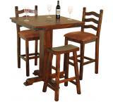 Rustic Santa Fe Pub Table