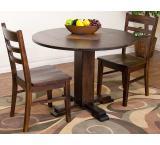 Rustic Santa Fe Drop Leaf Table