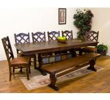 Rustic Santa Fe Trestle Extension Table
