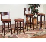 Rustic Santa Fe Swivel Bar Stool