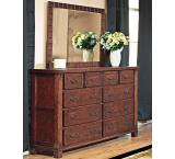 Solid Cherry Furniture 10-Drawer Dresser