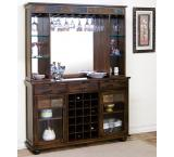 Rustic Santa Fe Complete Server & Back Bar