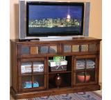 Rustic Santa Fe Inlaid TV Console