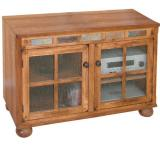 Rustic Oak 42 TV Console