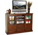 Rustic Santa Fe Counter Height TV Console