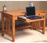 Rustic Oak Laptop Desk