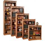 Rustic Oak & Slate 36H Bookcase