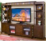 Rustic Santa Fe Complete Entertainment Center