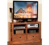 Rustic Oak & Slate 48 TV Console
