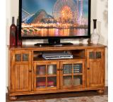 Rustic Oak 62 TV Console