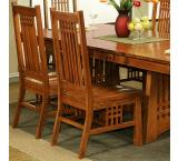 Rustic Mission Oak Brentwood Side Chair