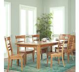 Solid Cherry Furniture Extendable Dining Table