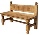 Extra Large Lyon Mexican Rustic Pine Bench
