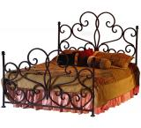 Mexican Copper Inlaid Emily Bed