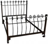 Mexican Hitching Post Bed