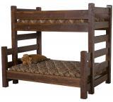 Rustic Barnwood / Barnwood Bunk Bed