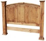 Mansion Mexican Rustic Pine Headboard