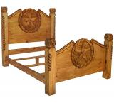 Lasso Mexican Rustic Pine Bed