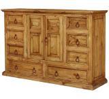 Tonala Mexican Rustic Pine Dresser