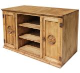 Tecate Star Mexican Rustic Pine TV Stand
