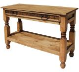 Lyon Mexican Rustic Pine Console Table