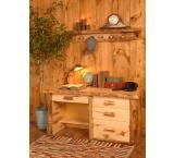 Rustic Aspen Log Aspen Office Desk