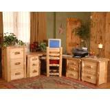 Rustic Aspen Log Classic Aspen Executive Desk