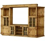 Dallas Mexican Rustic Pine Entertainment Center