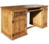 Computer Mexican Rustic Pine Desk