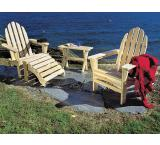Adirondack Chair Outdoor Patio Cedar Log Furniture