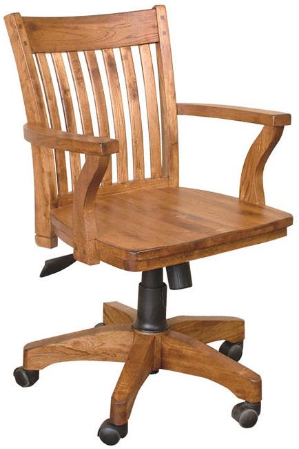 Rustic Furniture Rustic Oak fice Arm Chair