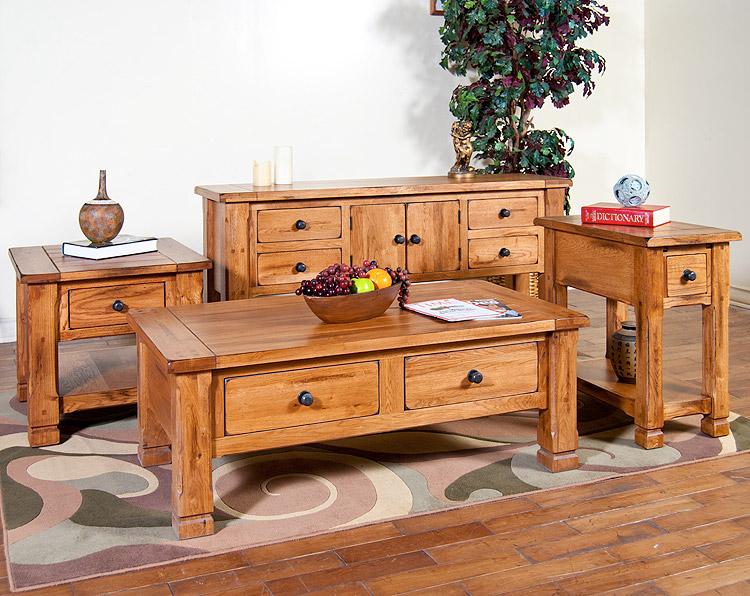 Rustic Oak Sofa Table Rustic Oak Sofa Table