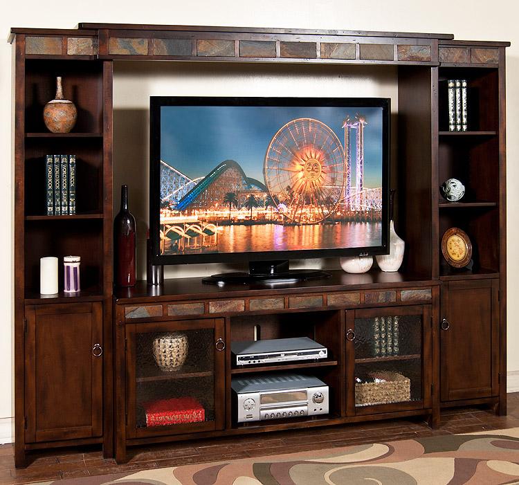 Rustic Furniture Rustic Santa Fe Complete Entertainment